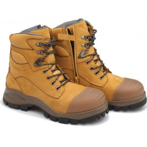 Blundstone 992 Lace with Zip & Scuff  Safety Boots WheatBlundstone 992 Lace with Zip & Scuff Safety Boots Wheat-0