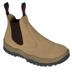 Mongrel 240040 Slip On Safety Boot Wheat