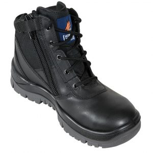 Mongrel 261020 Zip Side Safety Boot BlackCheap Work Boots Mongrel 261020 Black