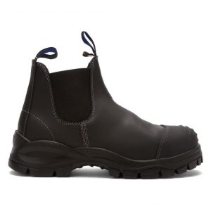 Blundstone 990 Slip On with Scuff Safety Boots Black-0