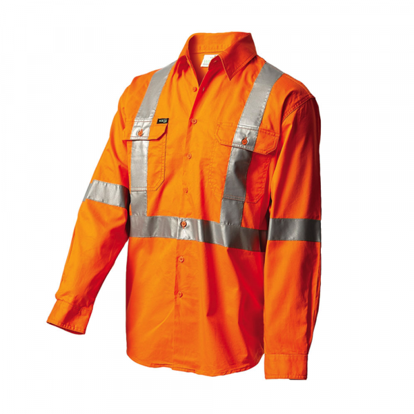 Workit NSW Rail Shirt 2017O (Workwear Clothing) front