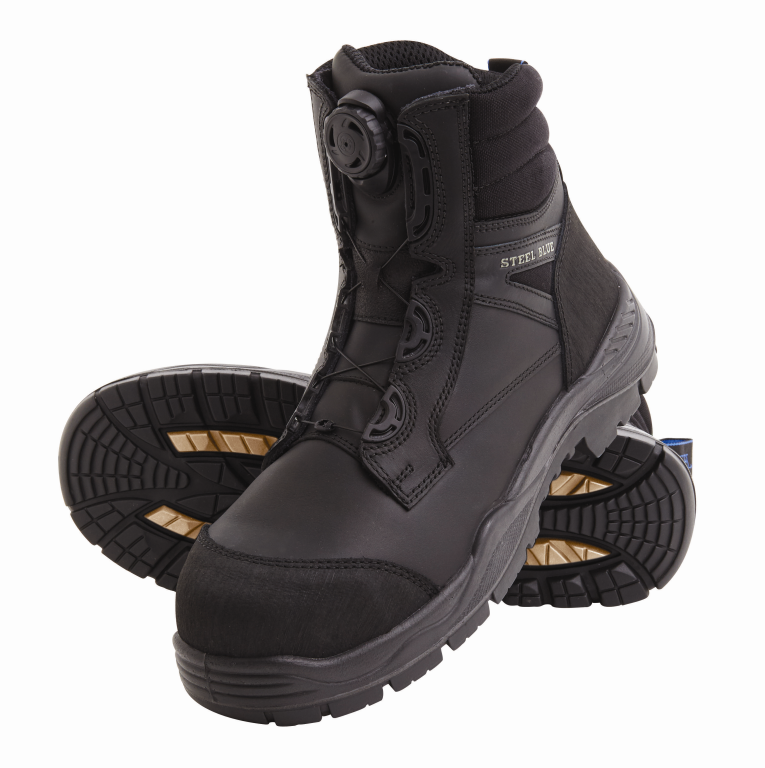ad490c2305d Steel Blue Torquay Spin-FX 327530 Safety Boots Black