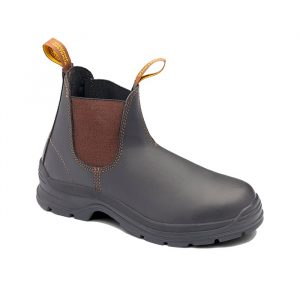 BLUNDSTONE 405 Slip On Non Safety Boots Stout BrownBlundstone 405 Safety Boot