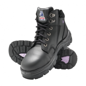 Steel Blue Ladies Parkes Zip 512758 Safety Boots Black-0