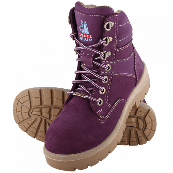 Steel Blue Ladies Southern Cross 522760 Lace Up Safety Boots-217