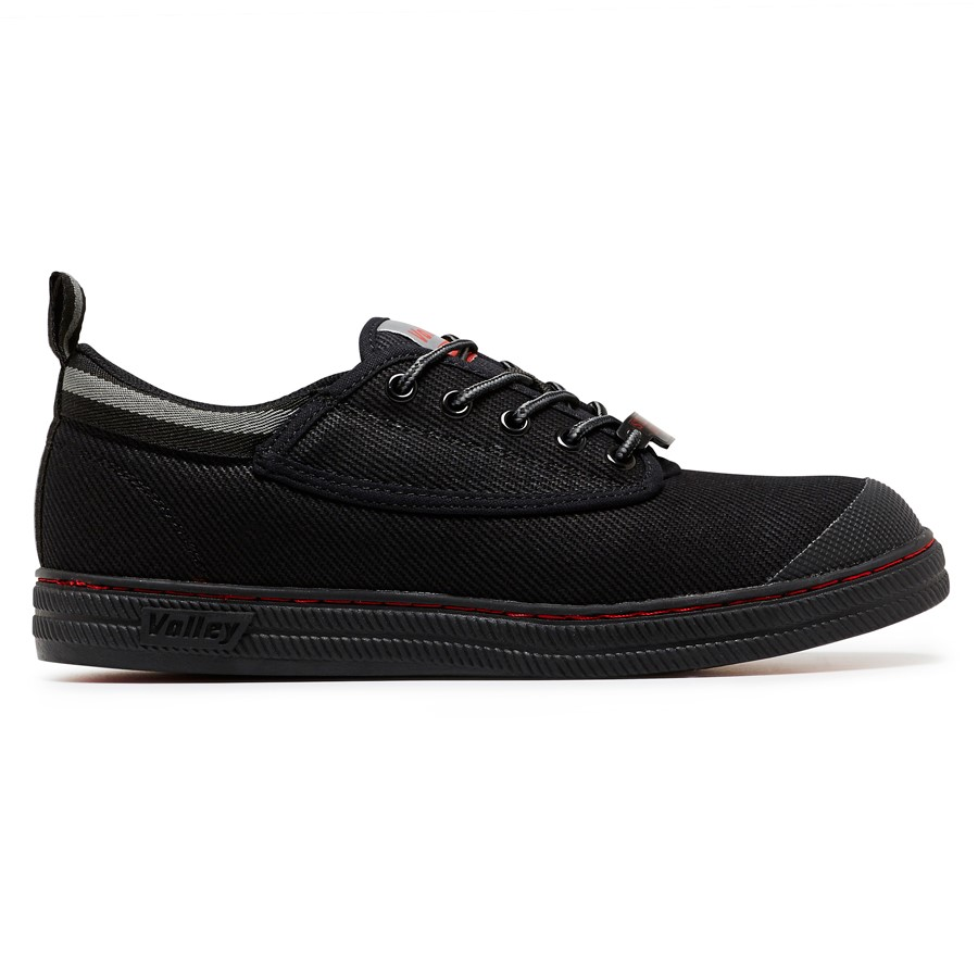 VOLLEY SAFETY SHOE BLACK 600073 -0