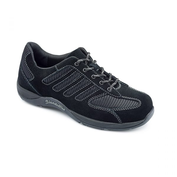 Blundstone 742 Black Lace Up Womens Safety Shoe-0