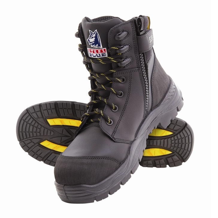 5498ceb912c Steel Blue Torquay EH Zip 827539 Safety Boots Black