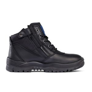 Mongrel 961020 Unisex Zip Side Non Safety Boot Black