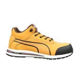 Puma 633187 Dash Safety Shoe Wheat