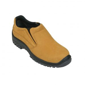 Mongrel 315050 Slip On Safety Shoe Wheat