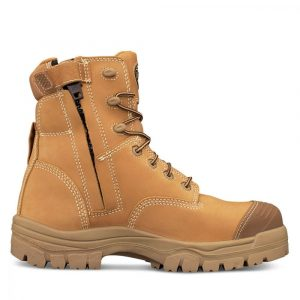 Oliver 45-632Z 150mm Zip Sided Safety Boot Wheat