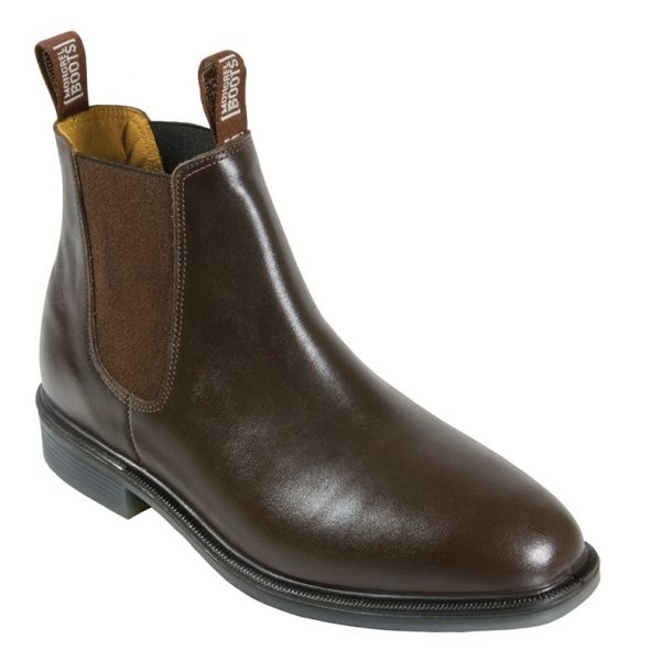 Mongrel 805070 Riding Boot Slip On Non Safety Boot Brown