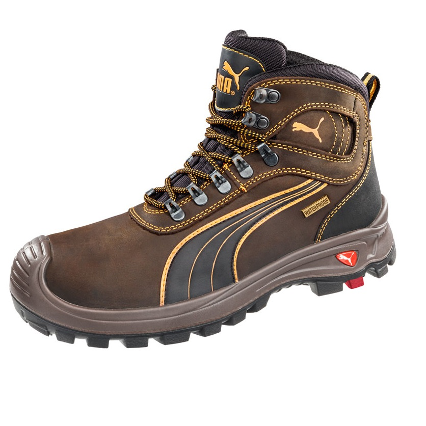 238d4a57c8c1 Puma 630227 Sierra Nevada Brown Water Proof Safety Boots-1184