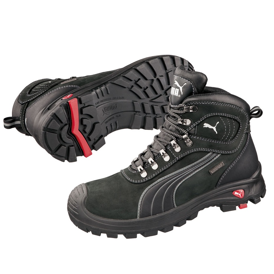Puma 630527 Sierra Nevada Water Proof Safety Boots Black-0 cd7485931