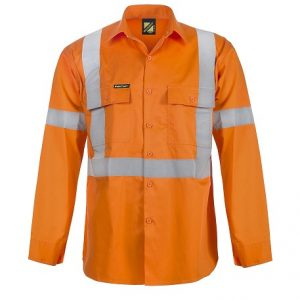 cheap work boots WORK CRAFT TAPED X BACK COOL LIGHTWEIGHT HI VIS VENTED SHIRT WS6010 (Workwear Clothing)