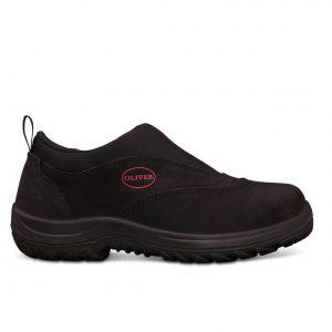 Oliver Slip On Safety Shoe Black 34-610
