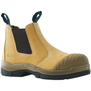 Bata Industrials Worx Slip On Safety Boot-Scuff Cap 815-80150Bata Industrials Worx Slip On Safety Boot-Scuff Cap Wheat 815-80150-0