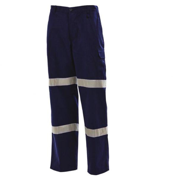 Workit 2 Hoop Navy Cargo Pants 1004DT (Workwear Clothing)