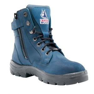 Steel Blue Southern Cross Zip  312361 Safety Boots Blue