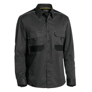 Bisley BS6133 Flex & Move Mechanical Stretch L/Sleeve Shirt