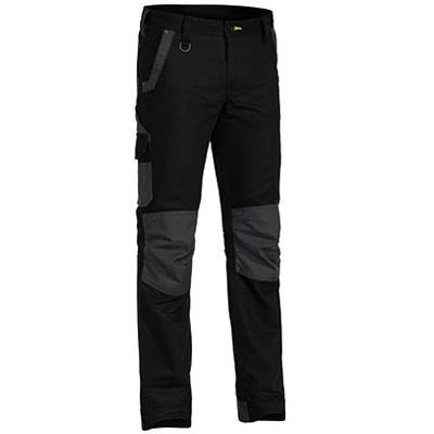 Cheap Work BootsBisley Flex N Move Pants BPC6130 Black