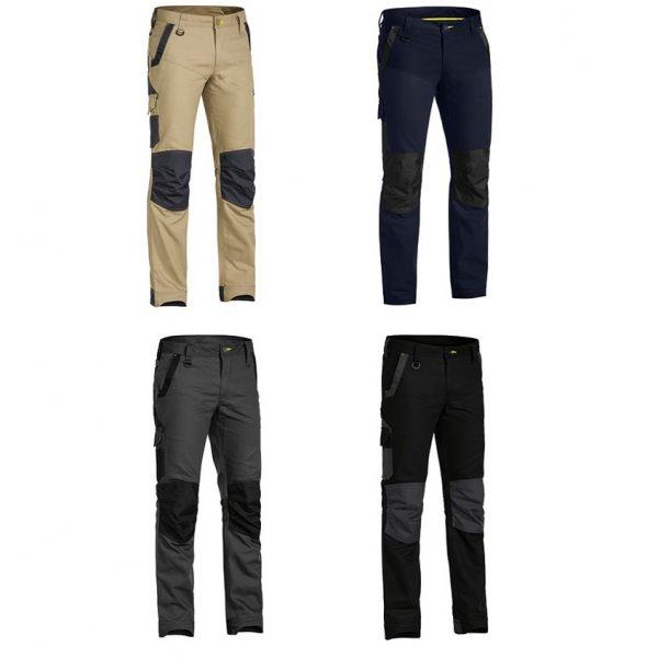 Cheap Work BootsBisley Flex N Move Pants BPC6130 Charcoal