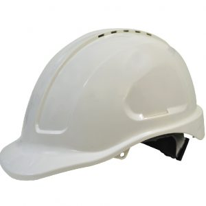 Maxi Safe Vented Hardhat Sliplock Harness HVS590 (PPE) White