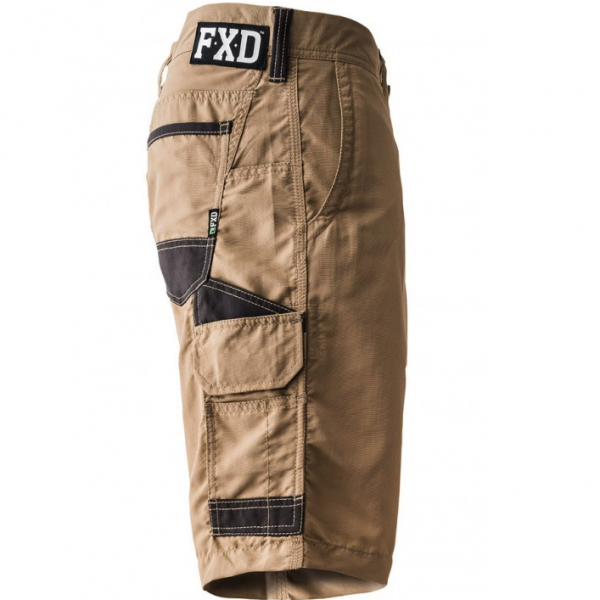 FXD Lightweight Work Shorts LS-1 (Workwear Clothing) khaki