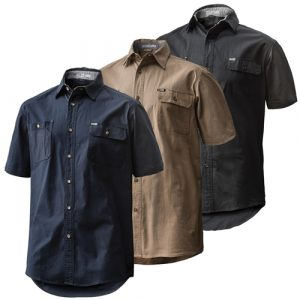 FXD SSH-1 Short Sleeve ShirtFXD SHORT SLEEVE TAILORED FIT STRETCH SHIRT SSH-1 GROUP