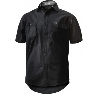 FXD SHORT SLEEVE TAILORED FIT STRETCH SHIRT SSH-1 BLACK