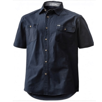 FXD SHORT SLEEVE TAILORED FIT STRETCH SHIRT SSH-1 NAVY