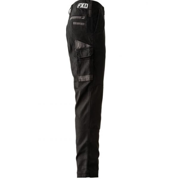 FXD Stretched Cargo Pants WP-3 (Workwear Clothing) black