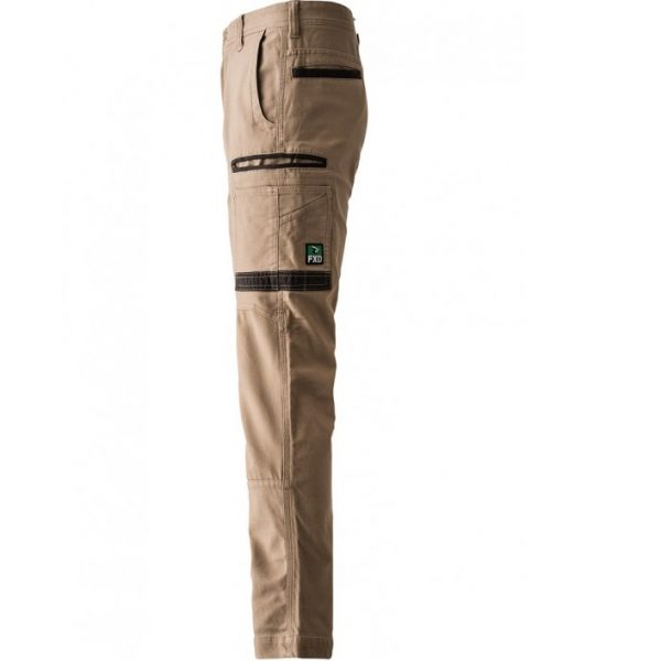 FXD Stretched Cargo Pants WP-3 (Workwear Clothing) khaki