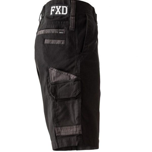 FXD 360 Degree Stretch Work Shorts WS-3 (Workwear Clothing) black