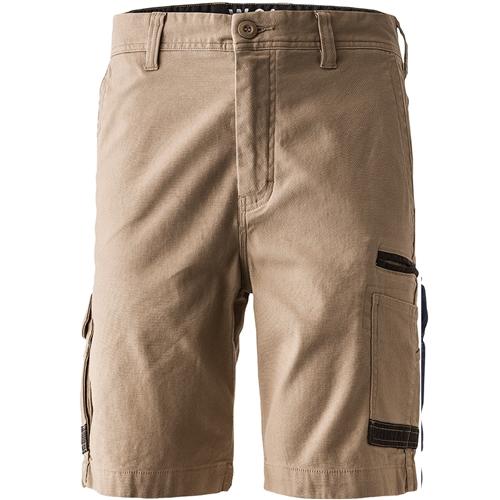 FXD 360 Degree Stretch Work Shorts WS-3 (Workwear Clothing) khaki