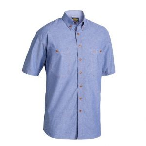 Bisley B71407 Chambray S/Sleeve Shirt