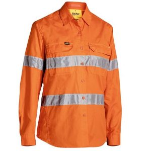 Bisley BL6416T WOMENS 3M Taped Hi-Vis X AirFlow™ RipStop Shirt