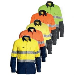 Bisley BS6415T 3M Taped Hi-Vis X Airflow™ RipStop L/Sleeve Shirtcheap work boots bisley BS6415T_group