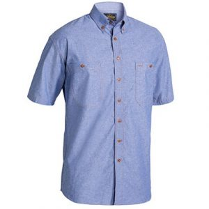 Cheap Work Boots Bisley Shirt B71407_CHAMBRAY