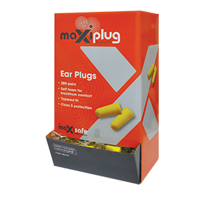 Maxisafe HEU645 'MaxiPlug' Ear Plugs – Uncorded 200 Packcheap work boots maxisafe HEU Ear Plug