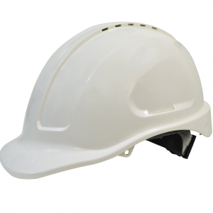 Maxi Safe HVR580 Vented Hardhat Ratchet HarnessMaxi Safe Vented Hardhat Ratched Harness HVR580 (PPE) white