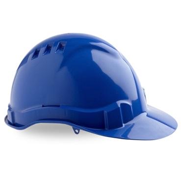 Maxi Safe Vented Hardhat Ratched Harness HVR580 (PPE) blue