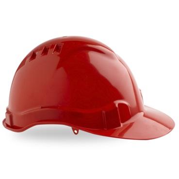 Maxi Safe Vented Hardhat Ratched Harness HVR580 (PPE) red