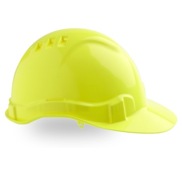 Maxi Safe Vented Hardhat Ratched Harness HVR580 (PPE) yellow