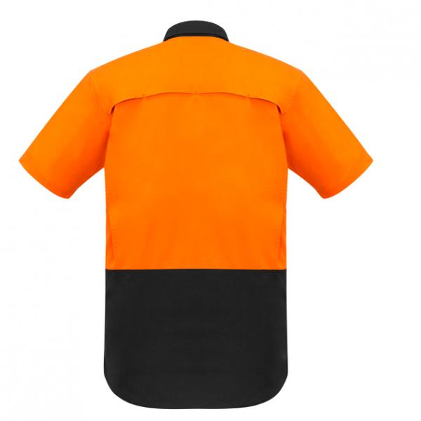 cheap work boots Syzmik ZW815_orange-charcoal