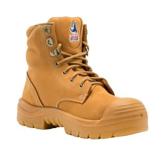 Steel Blue Ladies Argyle 542702 Wheat Safety Boots Nitrile/Bump