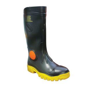 Maxisafe FWG902 Stimela 'Foreman' Black Safety Gumboots