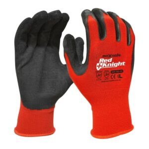 Maxisafe GNL156 Red Knight Gripmaster Glove Pack of 12