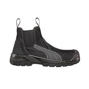 Puma 630347 Tanami Black Slip On Safety Boot